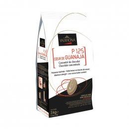 ดาร์คช็อกโกแลตที่เข้มข้นและหวานน้อย - VALRHONA P125 Coeur de GUANAJA
