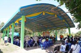 บริจาคมอบโครงหลังคาอเนกประสงค์ ให้แก่ โรงเรียนบ้านโนนใหม่ (ประชาอุปถัมภ์)  จ.ศรีสะเกษ