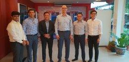 ผู้บริหารจาก บริษัท Dell Computer จากประเทศอเมริกาและมาเลเซีย (ปีนัง) มาเยี่ยมชมกิจการของบริษัท