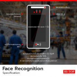 สแกนไว ลดความแออัดหน้าโรงงาน ด้วย Face Recognitionสแกนไว ลดความแออัดหน้าโรงงาน ด้วย Face Recognition