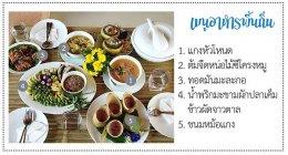 Local food at Ban Dong Huay Luang, Ban Lat District