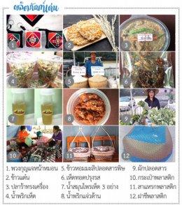Local food at Nong Pradu Ban, Khao Yoi District