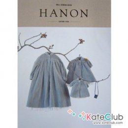 หนังสือสอนตัดชุดตุ๊กตา Doll Sewing Book HANON Satomi Fujii **พิมพ์ที่ญี่ปุ่น (มี 1 เล่ม)