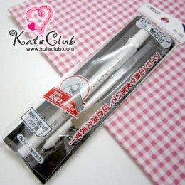 ปากกาเขียนผ้าสีขาว + ไส้หมึก สำหรับผ้าสีเข้มๆ ของ Clover **ลบได้ด้วยความร้อน