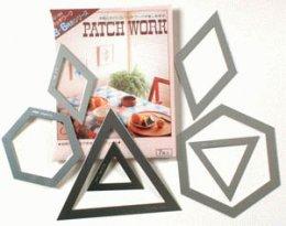 เทมเพลทอะลูมิเนียม ใช้กับงาน PatchWork แบบที่ 1 ชุดหกเหลี่ยม