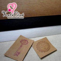 (สีน้ำตาลหมด) Paper Fabric สำหรับปั๊ม เย็บติดกระเป๋าซักได้ (ขนาด 22.5x24cm) **คลิกเลือกสีด้านใน