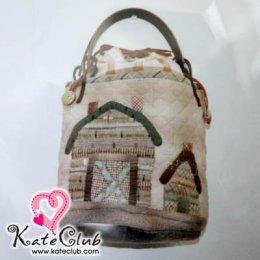 ชุดอุปกรณ์เย็บกระเป๋าถือใบเล็ก My Lovely Home By Reiko Kato