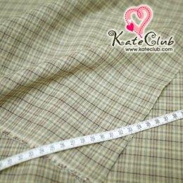 SALE - ผ้า Country No.24 ลายตาราง (ตัดขาย 1/2 เมตร=50x110cm)