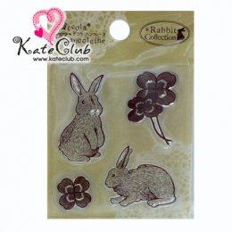 แผ่น Stamp ยาง Rabbit Collection No.33 (S)