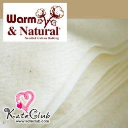 ใยสำหรับทำผ้าห่ม Warm and Natural cotton 100% From USA หนา 2.5 mm (ขนาด 90x115cm)