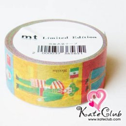SALE - Limited Edition mt Japanese Washi Masking Tape-National Costumes 20mm - สินค้ามือ 1
