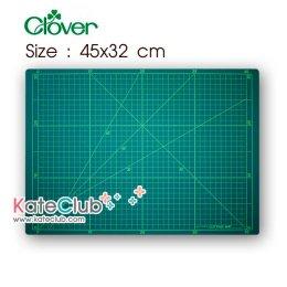 แผ่นรองตัด Cutting Mat จาก Clover ขนาด 45x32 cm