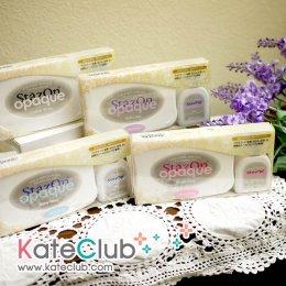 (สีขาว หมดค่ะ) หมึก StazOn opaque Set หมึกปั๊มพลาสติก, พลาสติกเรซิ่น, กระดาษขี้ผึ้ง, ภาพถ่าย (หมึกสีทึบ)