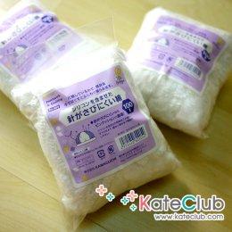 ใยญี่ปุ่นเนื้อ cotton+sillicone สำหรับทำหมอนปักเข็ม (100 g)