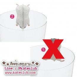 (พร้อมส่งเบอร์ 2) ตุ๊กตาเกาะแก้ว PUTITTO Hamster (ความสูงประมาณ 3-3.5 cm)