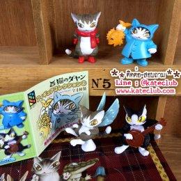 (พร้อมส่ง 2 เซท) Neko no Dayan - Figure Collection Vol.2 ยกเซท 4 ตัว (ความสูงประมาณ 4-4.5cm)