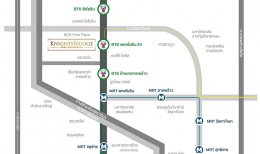 """KnightsBridge Prime Ratchayothin"" เชื่อมรถไฟฟ้า 3 สาย เพียง 50 เมตร จากสถานีพหลโยธิน 24(Preview)"