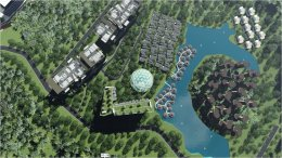 """""""ตฤณ นครา โกลเด้น ไทรแองเกิ้ล"""" นำธงเบิกฤกษ์เขตเศรษฐกิจพิเศษเชียงแสน จ.เชียงรายเนรมิตพื้นที่ 3,139 ไร่ มูลค่ากว่า 4 หมื่นล้านเป็น """"เมืองแห่งความสุข"""" (The City of Harmonious Living)"""