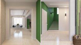ตกแต่งภายในให้บ้านดูสดใส ด้วยสีเขียวและสีเหลือง