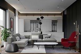 40 ห้องนั่งเล่นสีเทาที่จะทำให้บ้านของคุณมีสไตล์และไม่น่าเบื่อ