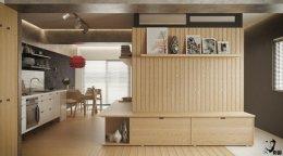 5 ตัวอย่างการออกแบบตกแต่งห้องพักแบบสตูดิโอขนาดเล็กอย่างไรให้น่าอยู่