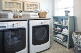 ไอเดียจัดสรรพื้นที่ในบ้านเพื่อทำห้องซักรีดขนาดเล็ก