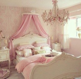 มาแต่งห้องนอนสีชมพูเอาใจสาวๆกัน