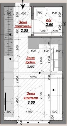 เทคนิคตกแต่งอพาร์ทเมนท์ขนาด 30 ตร.ม.อย่างไรให้ลงตัว (แบบที่ 2)