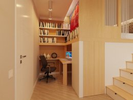 เทคนิคพิเศษในการออกแบบภายในอพาร์ทเมนท์ขนาดเล็กให้ดูกว้าง