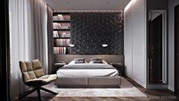 22 ตัวอย่างห้องนอนสไตล์ Library bedroom สำหรับคนรักการอ่านหนังสือ