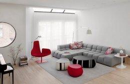 20 ห้องนั่งเล่นสไตล์มินิมอล (minimalist)