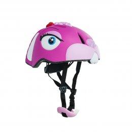 Crazy Stuff Pink Bunny Helmet