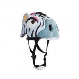 Crazy Stuff Zebra Helmet