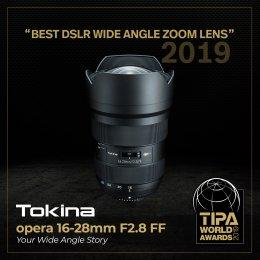 opera 16-28mm F2.8 FF ได้รับรางวัล TIPA World Awards ปี 2019