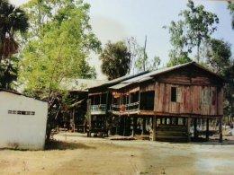 ถวายปัจจัยแด่หลวงปู่แวนกาย ร่วมสร้างกุฎิและห้องน้ำ วัดอัมปึล ประเทศกัมพูชา