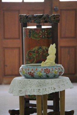 งานมุทิตาสักการะบูชาท่านเจียงหัวหลงตัวเจิงโช่รินโปเช่  เมื่อวันอาทิตย์ที่ 17 สิงหาคม 2557