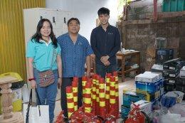 องค์การอุตสาหกรรมป่าไม้ (อ.อ.ป.) จัดมอบอุปกรณ์เครื่องใช้สนับสนุนโรงงาน
