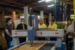 สำนักงานอุตสาหกรรม ลงพื้นที่เยี่ยมชมโรงงานทวีศักดิ์เฟอร์นิเจอร์