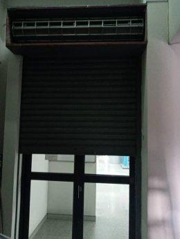ซ่อมประตูม้วน ธนาคารกรุงไทย สาขาวงศ์สว่าง งานเปลี่ยนฐานล่างประกอบฉาก