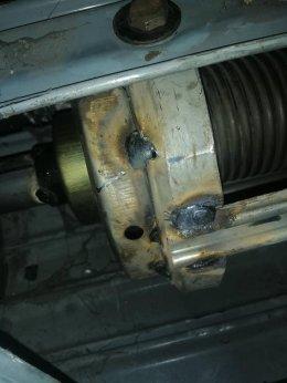 ซ่อมประตูม้วน อ.ภาชี พระนครศรีอยุธยา งานซ่อมเปลี่ยนชุดลูกปืนเพลา