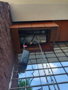 ซ่อมมอเตอร์ประตูม้วน วัชรพล-สายไหม งานซ่อมผ้าเบรคมอเตอร์+ ไดโอด