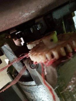 ซ่อมมอเตอร์ประตูม้วน คลอง2 ปทุมธานี งานซ่อมเปลี่ยนโซ่เฟืองมอเตอร์