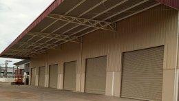 ซ่อมประตูม้วน นิคมไฮเทค บางปะอิน งานติดตั้งประตูม้วนระบบไฟฟ้า 6 ชุด