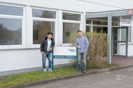 เยี่ยมเยียนบริษัทผู้ผลิตที่ยุโรป HELL Gravure Systems, Kaspar Walter, และ Technodiamant