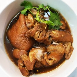GoCare! Pork legs stewed (with clips)
