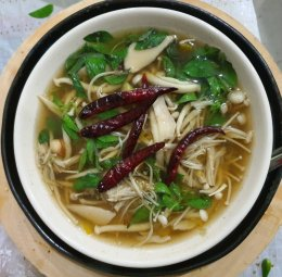 GoCare! Herbal Mushroom Soup Against Flu During this COVID outbreak Must maintain their health very seriou