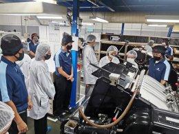 ลงตรวจพื้นที่โรงงาน บ.ทั้งฮั่วซิน จำกัด รางวัลผู้ประกอบธุรกิจส่งออกดีเด่น  ปี 2563 สาขา สิ่งพิมพ์และบรรจุภัณฑ์