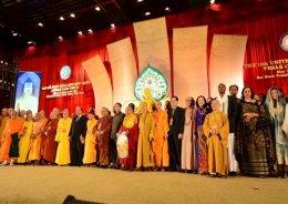 16.การประชุมชาวพุทธนานาชาติเนื่องในวันวิสาขบูชาโลก ปี 2548 – 2559 โดย มหาวิทยาลัยมหาจุฬาลงกรณราชวิทยาลัย