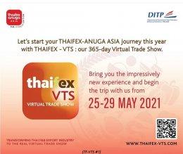 THAIFEX ANUGA ASIA  THAIFEX-VIRTUAL TREAD SHOW 25-29 May 2021