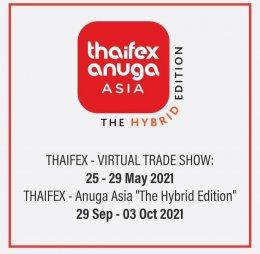 THAIFEX-VIRTUAL TREAD SHOW 25-29 May 2021